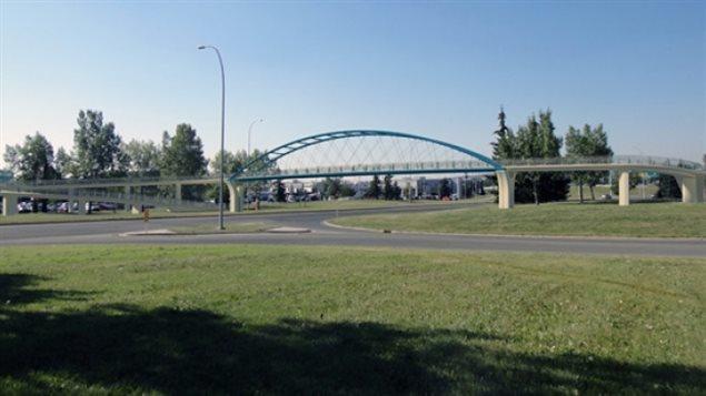 Pont piétonnier Shaganappi - Calgary