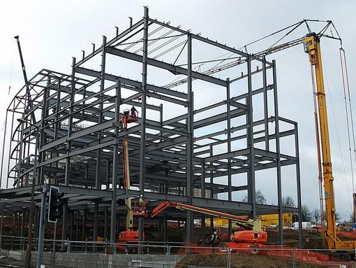 Sections soudées WWF pour bâtiment